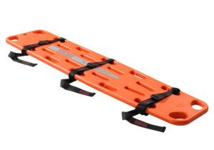 Spineboard X-Straight mit drei Gurten